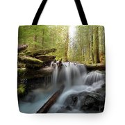 Panther Creek In Gifford Pinchot National Forest Tote Bag