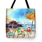 Papagayo Beach Bar In Lanzarote Tote Bag