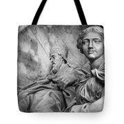 Papal Statues Inside St Peter's Basilica Tote Bag