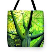 Papaya Tree Tote Bag