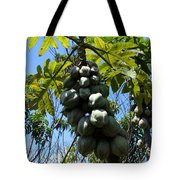 Papayas On A Tree Tote Bag