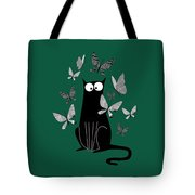 Paper Butterflies  Tote Bag by Andrew Hitchen