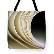 Paper Curl Tote Bag