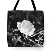 Paper Flower In B And W Tote Bag