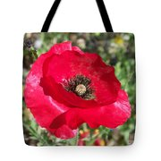 Paper Flower Tote Bag
