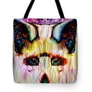 Paper Fox  Tote Bag