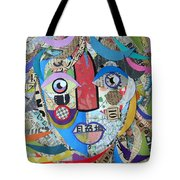 Paper Girl Windy Day Tote Bag
