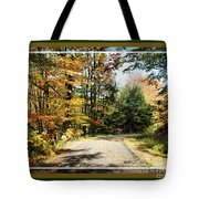 Paper Mill Trail, Framed Tote Bag