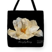 Paper Peony Loving By Giving Tote Bag