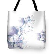 Paper Petals Tote Bag