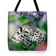 Paper Rice Butterfly Tote Bag