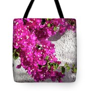 Papery Pink Riot Tote Bag