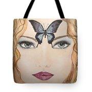 Papillon Tote Bag