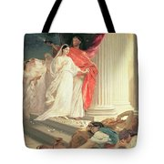 Parable Of The Wise And Foolish Virgins Tote Bag