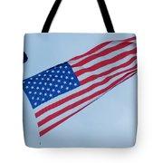 Parachute And Flag Tote Bag