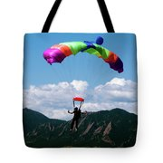 Parachuting Tote Bag