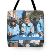 Parade For 1998 World Series Champions Tote Bag