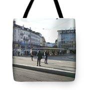 Paradeplatz - Bahnhofstrasse, Zurich Tote Bag