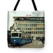Paradeplatz Zurich Tote Bag