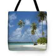 Paradise - Maupiti Lagoon Tote Bag by Kyle Rothenborg - Printscapes