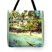 Paradise At Dorado Puerto Rico Tote Bag
