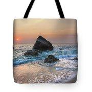 Paradise Beach Sunset Tote Bag