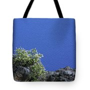 Paradise For Backpackers - Crater Lake In Crater National Park - Oregon Tote Bag