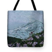 Paradise Mount Rainier Tote Bag