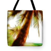 Paradise Palm Tote Bag