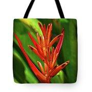 Parakeet Flower Exotic Tote Bag