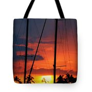 Parallel Light Source Tote Bag