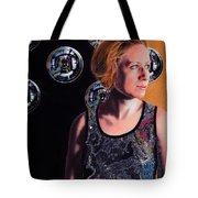 Parallel Spheres Tote Bag