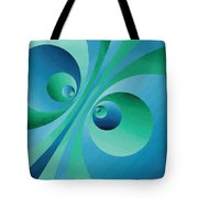 Parallel Universes Tote Bag