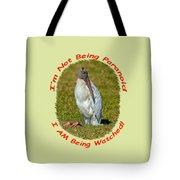Paranoid Woodstork Tote Bag