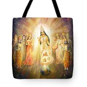 Parashakti Devi - The Great Goddess In Space Tote Bag