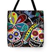 Pareja Dia De Los Muertos Tote Bag