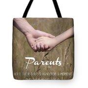 Parents For A Lifetime Tote Bag