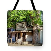 Parimount Ranch Sheriff Office Tote Bag