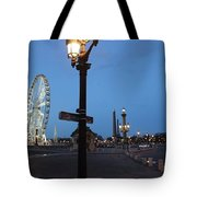 Paris At Dawn Tote Bag