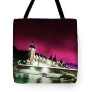 Paris At Night 18 Art Tote Bag
