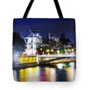 Paris At Night 22 Tote Bag