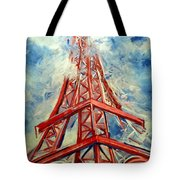 Paris Backdrop Tote Bag