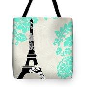 Paris Blues Tote Bag