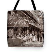 Paris Cafe 1935 Sepia Tote Bag