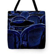 Paris Chairs Tote Bag