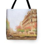 Paris, City Of Lovers Tote Bag