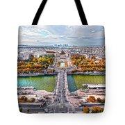 Paris City View 19 Art Tote Bag