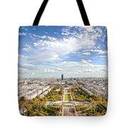 Paris City View 20 B Tote Bag