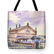 Paris City View 22 Art Tote Bag