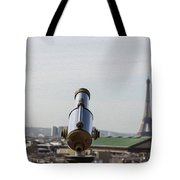 Paris City View 28 Tote Bag